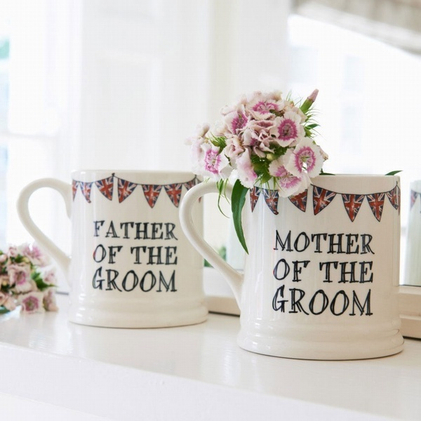 Father & Mother of the Groom mugs