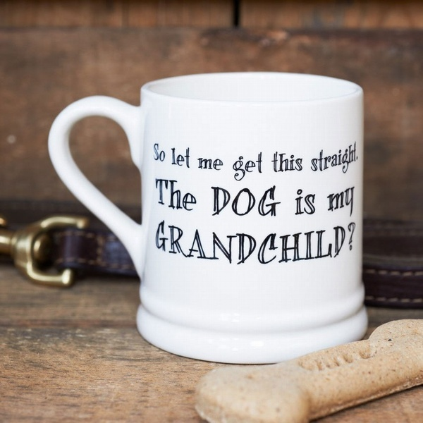 Dog is my Grandchild mug