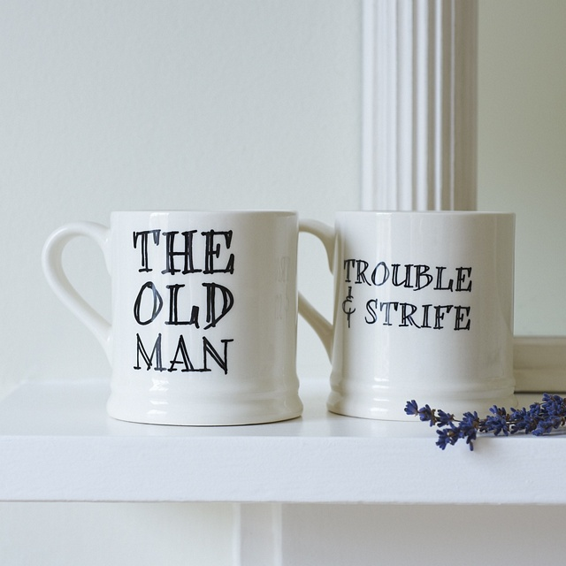 The Old Man & Old Dear Mugs