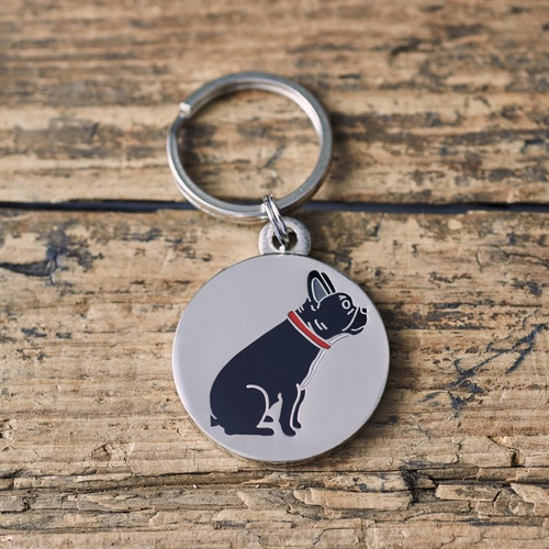 French Bulldog ID Name Tag