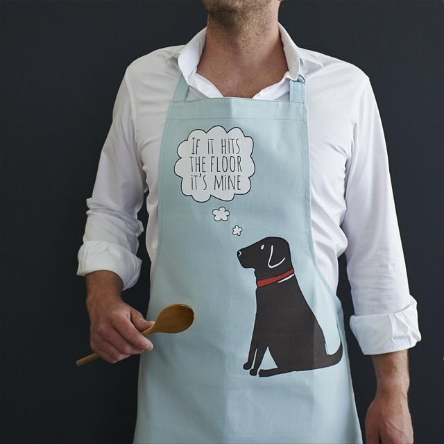 Chocolate Labrador Apron