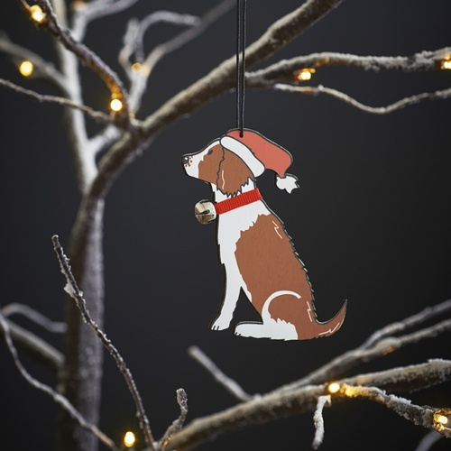 Springer Spaniel (Liver & White) Christmas Tree Decoration