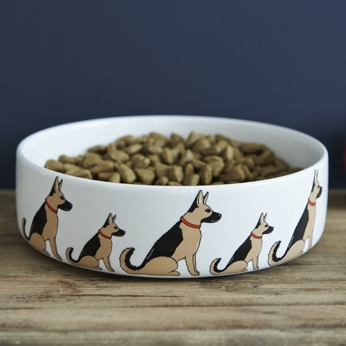 German Shepherd Dog Bowl