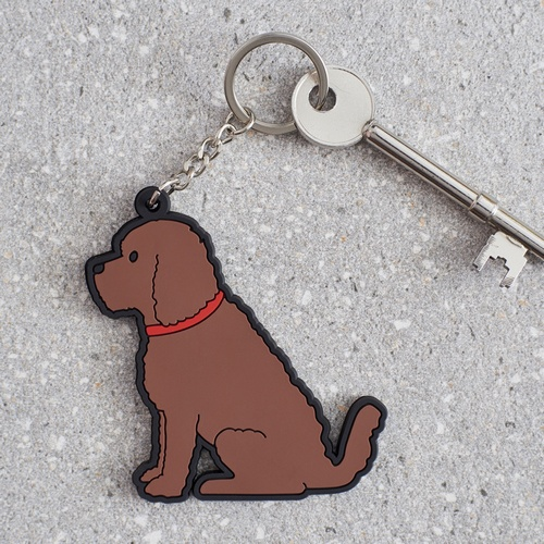 Cockapoo Key Ring