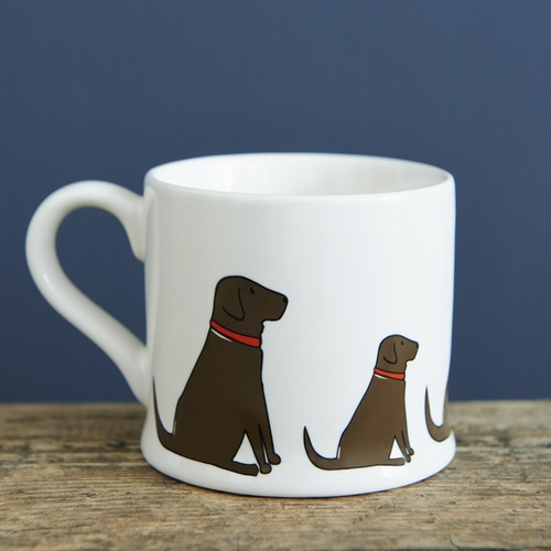 Chocolate Labrador Mug