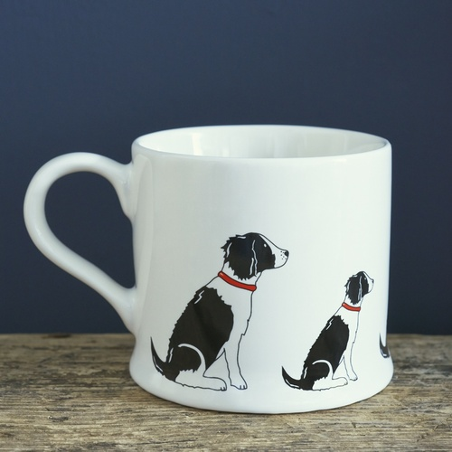 Springer Spaniel (Black & White) Mug