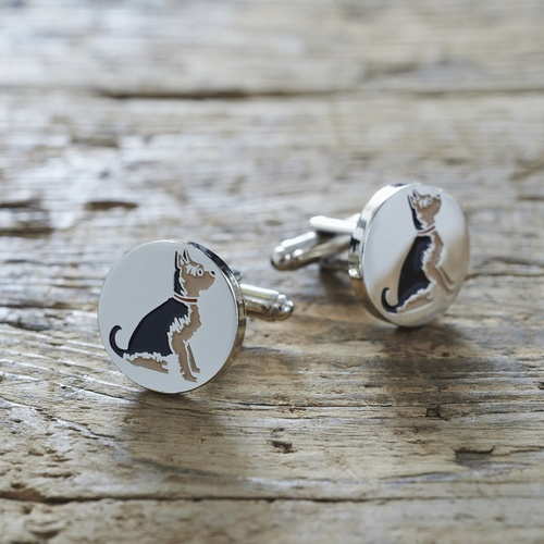 Yorkshire Terrier Cufflinks