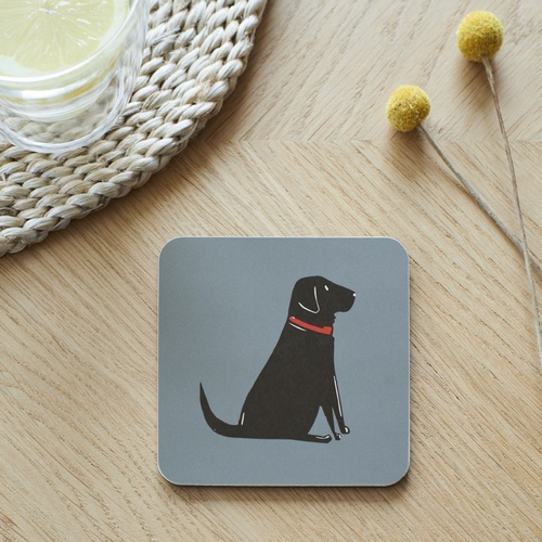 Black Labrador Coaster