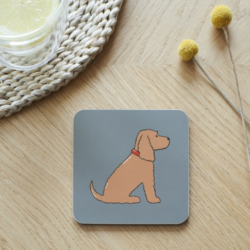 Golden Cocker Spaniel Coaster