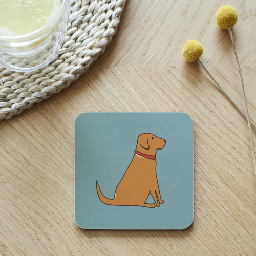 Fox Red Labrador Coaster