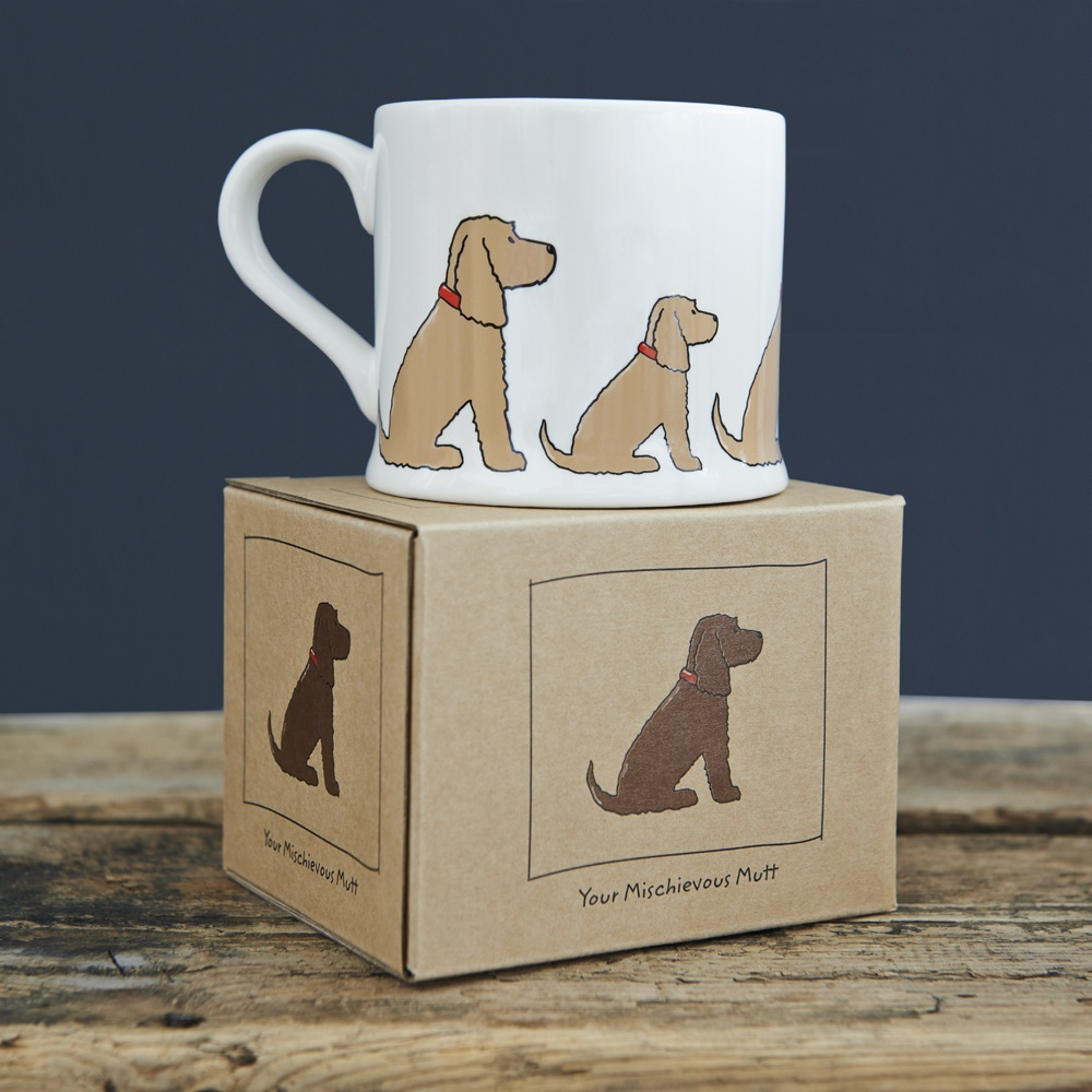 Golden Cocker Spaniel Mug and Mug Gift Box
