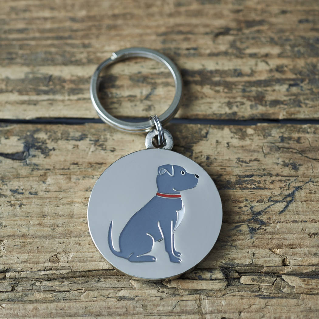 Staffie Staffordshire Bull Terrier Dog ID Tag