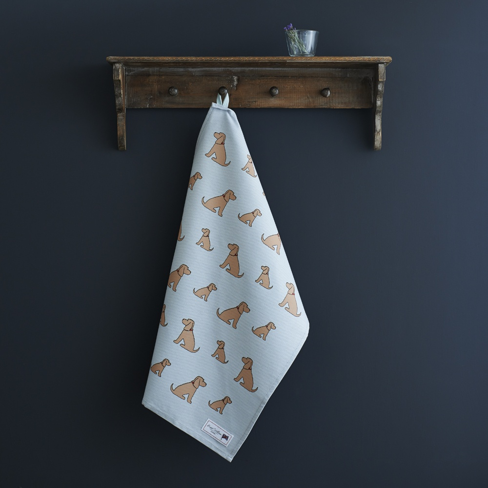 Golden Cocker Spaniel Tea Towel