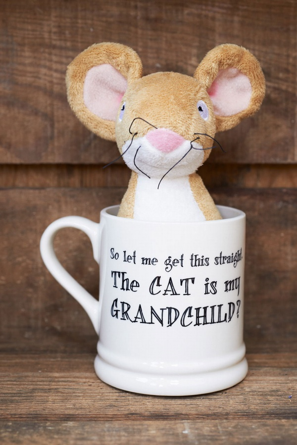 So let me get this straight the Cat is my grandchild mug